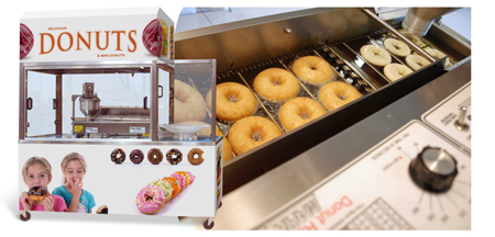 Belshaw Adamatic:  New 'Insider' Ventless Donut System